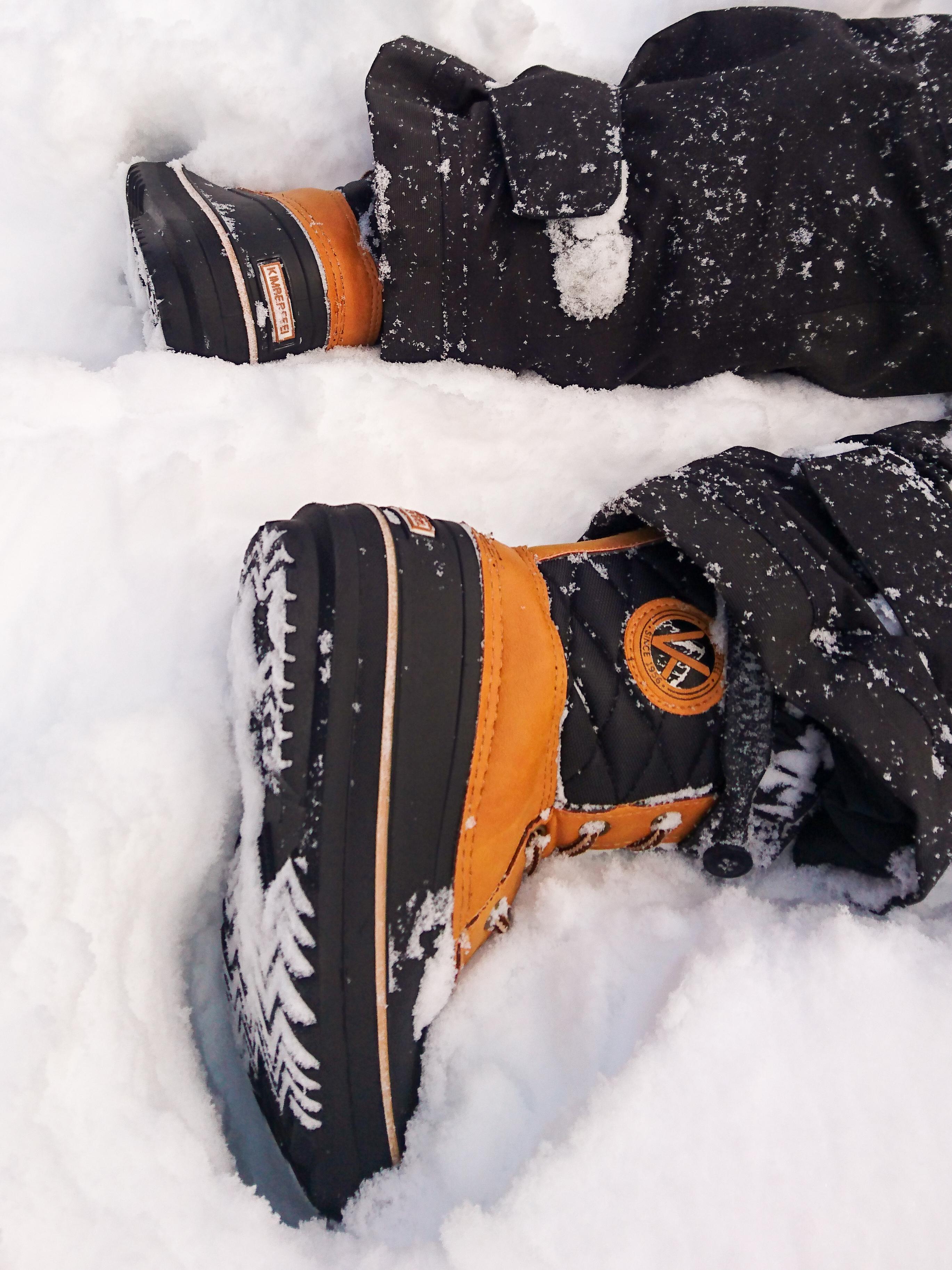 bottes de neige Jibber de Kimberfeel