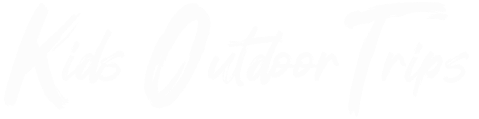 Logo blanc Kids outdoor trips